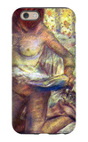 Kneeling Woman iPhone 6s Case by Edgar Degas