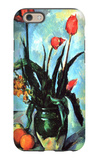 Tulips in a Vase iPhone 6 Case by Paul Cézanne