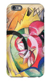 Colored Flowers iPhone 6 Plus Case by Franz Marc
