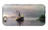 Shipwreck in Loring Bay, Alaska iPhone 6 Case by Albert Bierstadt