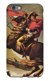 Napoleon Crossing the Alps iPhone 6 Plus Case by Jacques-Louis David