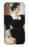 Portrait of Marie Breunig iPhone 6 Case by Gustav Klimt
