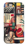 Man with a Donkey iPhone 6 Case by Auguste Macke