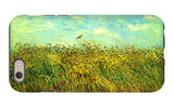 Wheat Field with a Lark iPhone 6 Case by Vincent van Gogh