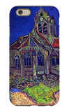 The Church of Auvers iPhone 6 Case by Vincent van Gogh