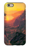 Donner Lake iPhone 6 Case by Albert Bierstadt