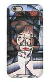 Portrait of Madame Germaine Raynal iPhone 6 Case by Juan Gris