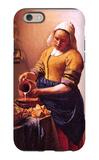 Milk Maid iPhone 6 Case by Jan Vermeer