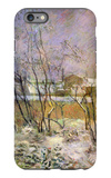 Snow in Rue Carcel iPhone 6 Plus Case by Paul Gauguin