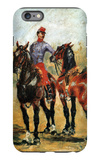 Groom with Two Horses iPhone 6s Plus Case by Henri de Toulouse-Lautrec