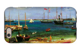 Nassau Port iPhone 6s Case by Albert Bierstadt
