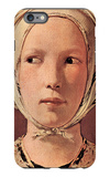 Woman's Head Frontally iPhone 6s Plus Case by Georges de La Tour