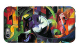 Abstract with Cattle iPhone 6 Plus Case by Franz Marc