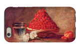 The Strawberry Basket iPhone 6 Case by Jean-Baptiste Simeon Chardin