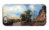 Northern Fork of the Plate, Nebraska iPhone 6 Case by Albert Bierstadt