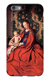 Madonna and Child Reading iPhone 6s Plus Case by Jan Van Eyck