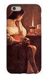 Magdalen with the Smoking Flame iPhone 6 Case by Georges de La Tour