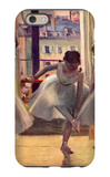 Three Dancers in a Practice Room iPhone 6 Case by Edgar Degas