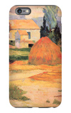 Farmhouses in Arles iPhone 6 Plus Case by Paul Gauguin