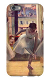 Three Dancers in a Practice Room iPhone 6s Plus Case by Edgar Degas