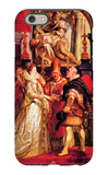 Medici Marriage in Florence iPhone 6 Case by Peter Paul Rubens
