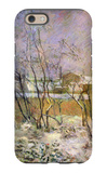 Snow in Rue Carcel iPhone 6 Case by Paul Gauguin