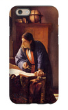 The Geographer iPhone 6 Case by Jan Vermeer