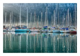 Hout Bay Harbor, Hout Bay South Africa Art by Richard Silver