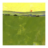 Hot Sky over Lazy Fields Prints by Paul Bailey