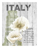 Italy Poppies Prints by Alicia Soave