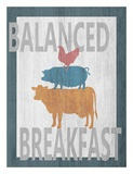 Balanced Breakfast One Posters by Alicia Soave