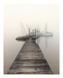 Harbor Fog Prints by Nicholas Bell