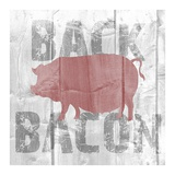Back Bacon Posters by Alicia Soave