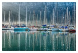Hout Bay Harbor, Hout Bay South Africa Posters by Richard Silver