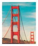 Golden Gate in The Morning Prints by Sonja Quintero