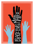Black Lives Matter - Hands Prints by Emily Rasmussen