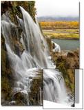 Fall Creek Falls, Along the South Fork of the Snake River Kunst af Greg Winston