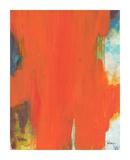 Orange Tide Kunst af Jan Weiss