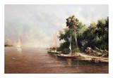 Fisherman Landing Prints by Art Fronckowiak