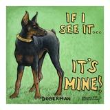 It's Mine Prints by Janet Kruskamp