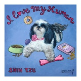 I Love My Human Prints by Janet Kruskamp