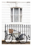 London Bicycle Print by Georgianna Lane