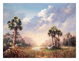 Golden Glades Print by Art Fronckowiak