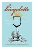 Bicyclette Recipe Art by  Fig & Melon Press