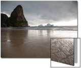 Afternoon Storm Approaching Railay Beach, Thailand Kunst af Erika Skogg