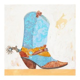 Boy Boot Prints by Anthony Grant