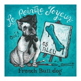 Le Peintre Joyeux Posters by Janet Kruskamp