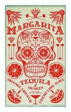 Margarita Recipe Print by  Fig & Melon Press