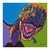 TRex Print by Ron Burns