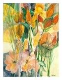 Tropical Garden Prints by Marlene Lawrence